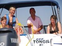 乘船游览地中海