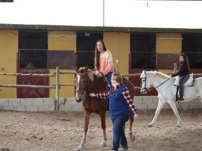 4 horse riding classes, 50 min., Valencia