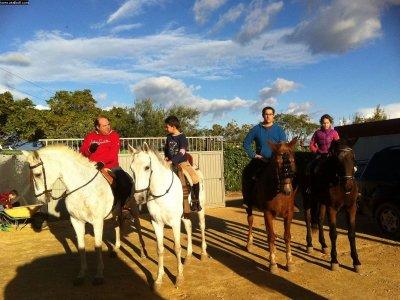 Ruta a caballo, la Vereda Real, Valencina 1h 20min