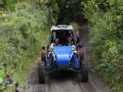 Ruta en buggy biplaza en Cumbre Nueva La Palma 3 h