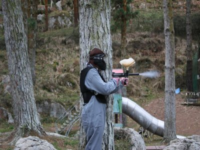 Paintball con 200 en Deba