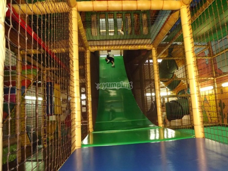 Great indoor slide