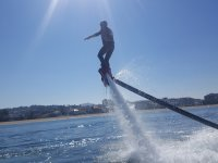 Flyboard on a sunny day