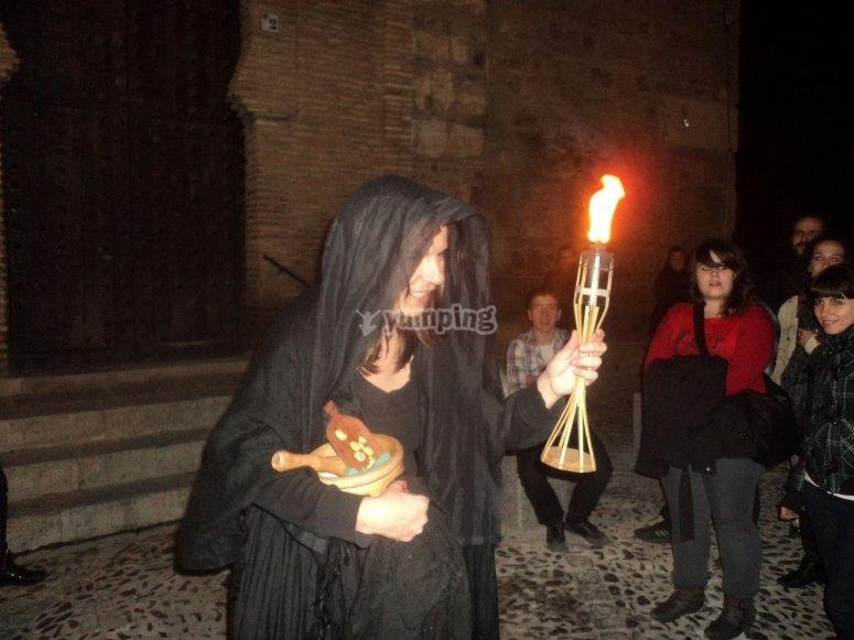 La hechicera en Toledo