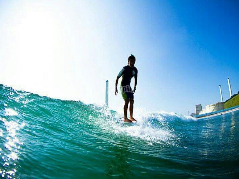 Sessione di surf privata
