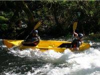 Canoas en los mejroes rios de la zona