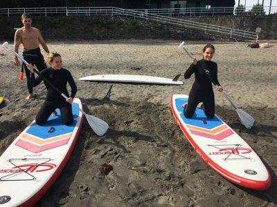 Excursión de paddle surf en Naveces, 1 hora