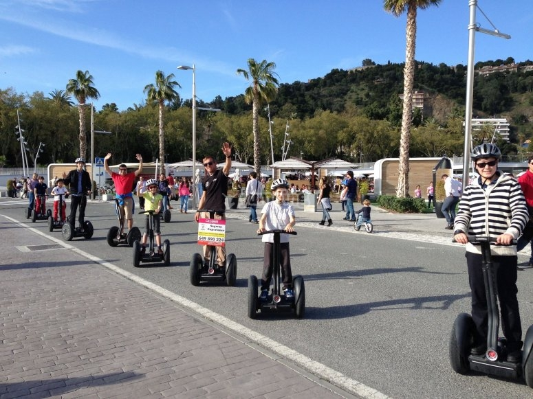 Big groups in segways
