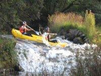 Descensos en kayaks de aguas bravas