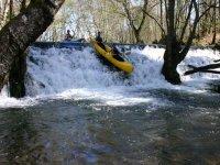 Kayask para descensos por rios