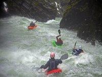 Rápidos en kayak
