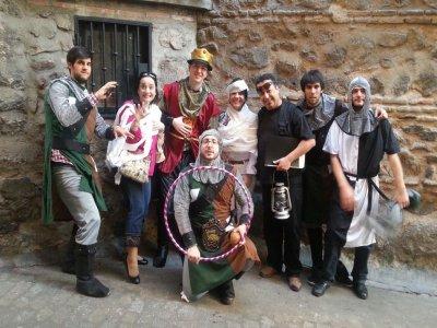 Tour de tapas con actores tipo Furor, Toledo