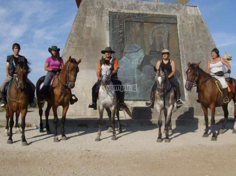 Gruppo di cavalieri
