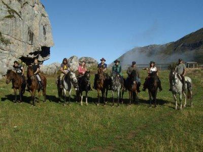 Itinerario a cavallo nel P. Natural de Somiedo