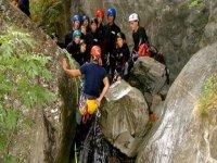 classe di canyoning