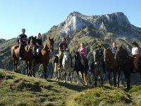 Viaggio a cavallo ad Aristébano