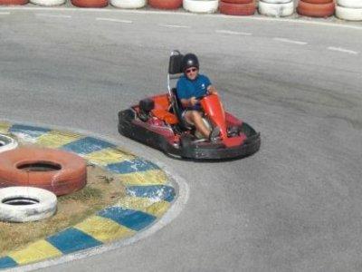 Carrera de karting adultos+barbacoa, Almayate Bajo