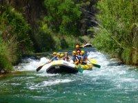 Rafting inciación río Cabriel 2h