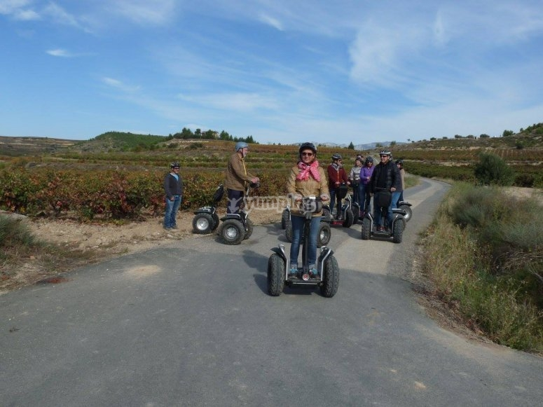 Ruta en segway en La Rioja