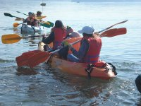 Packages with canoes