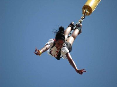 Salto bungee jumping en Lloret de Mar