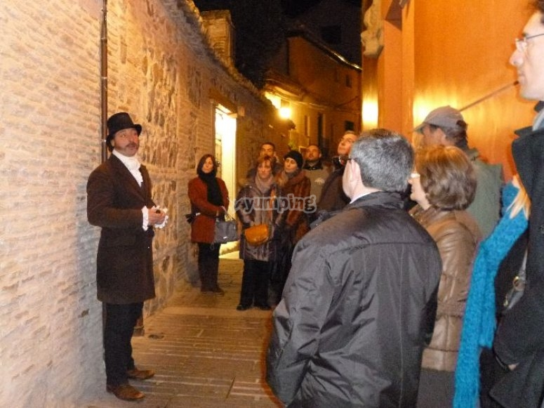 Night tour in Toledo