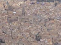 Bird's eye view of Toledo