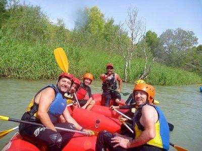Rafting nivel medio río Guadazaón 2h 30min