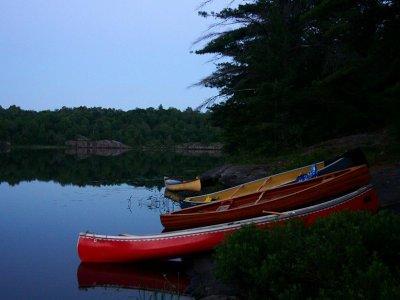 在环境划独木舟Naveces3小时