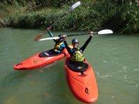 Descenso kayak aguas bravas río Cabriel Valencia