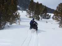 Recorrido en moto de nieve