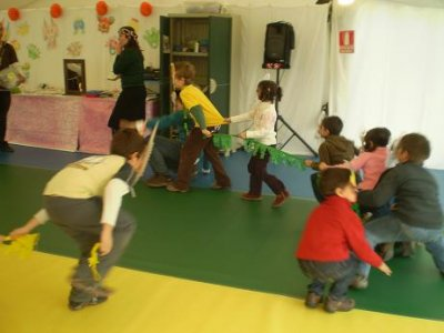 1h in a playroom for children in Tres Olivos