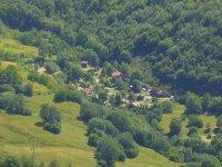 vista aerea de camping el Cares