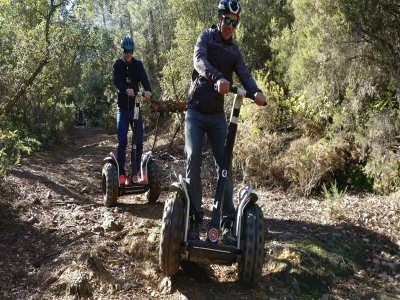 Segway route in Arenys de Munt (1 hour 30 minutes)