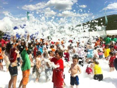 Especial colegio:Actividades + fiesta de la espuma