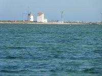 Molino en la costa