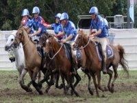 gruppo di corse di cavalli