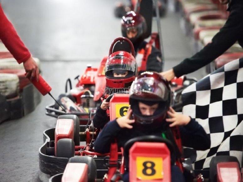 Karting en Jerez
