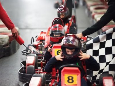 Stag Party: Karting + Dinner-Special Show, Jerez