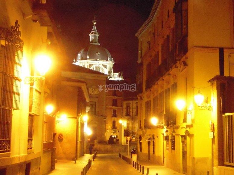 Conoce Madrid de noche