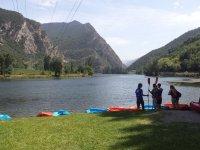Preparazione per le canoe