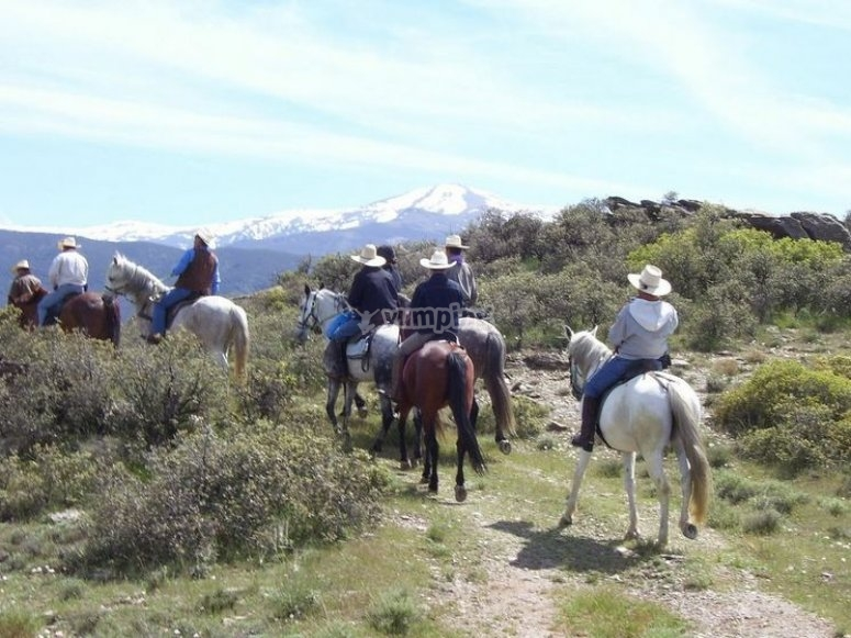 Rutas por Sierra Nevada