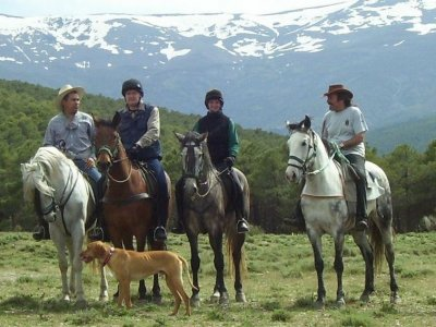 Horse riding 6 days in Sierra Nevada + stay