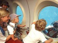 visión desde el submarino