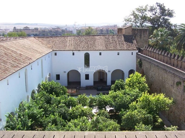 Cortile moresco dell'Alcazar