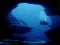 entrando a una gruta