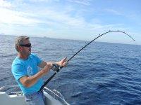 tirando il pescato