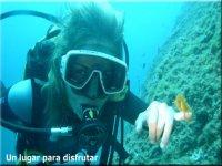 拉Azohía潜水之旅,享受另一个世界的地方