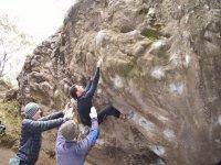 Practicar escalada en Pontevedra