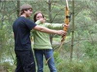 Practicas de tiro con arco